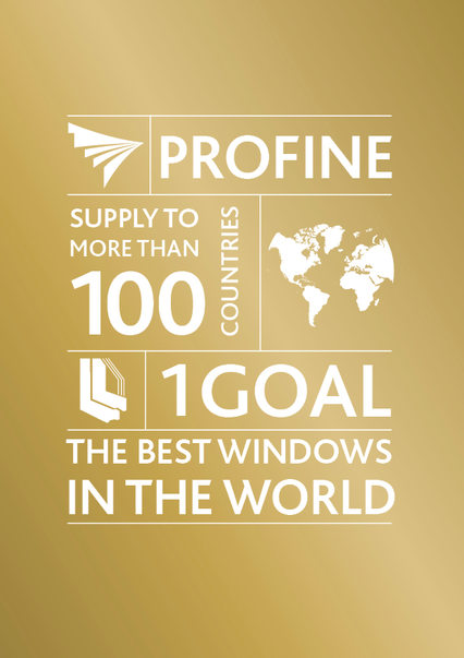 profine Group: 70 sites, 3,000 members of staff, 1 goal